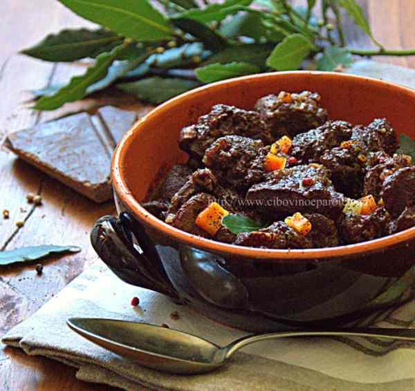 Ricetta: Cinghiale al cioccolato fondente