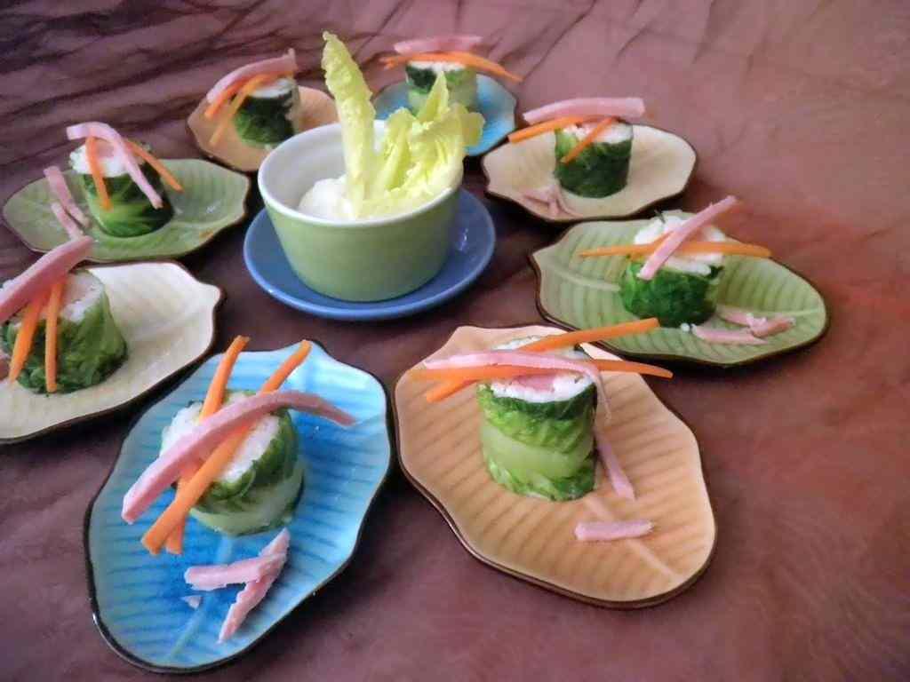 Ricetta: Sushi di prosciutto cotto