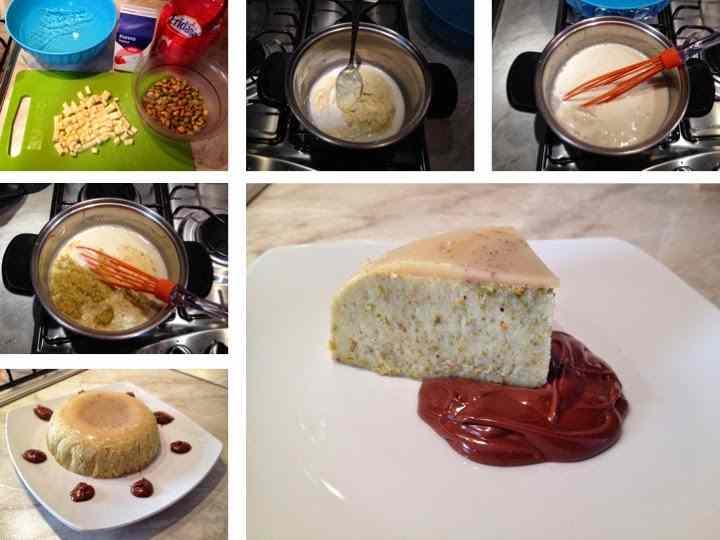 Ricetta: Pannacotta al pistacchio e cioccolato bianco