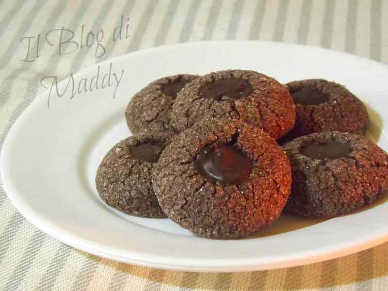 Ricetta: Fossette Golose al Cioccolato