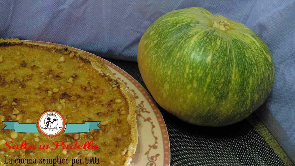 Ricetta: Crostata di Zucca con granella di mandorle