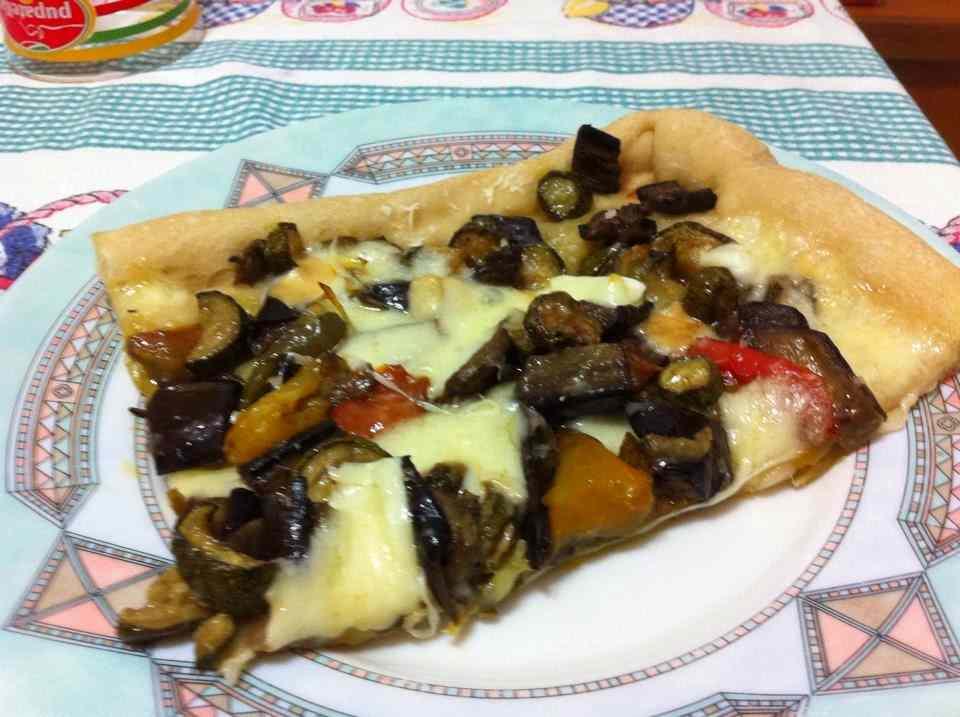 Ricetta: Pizza con tris di verdure e farina di farro