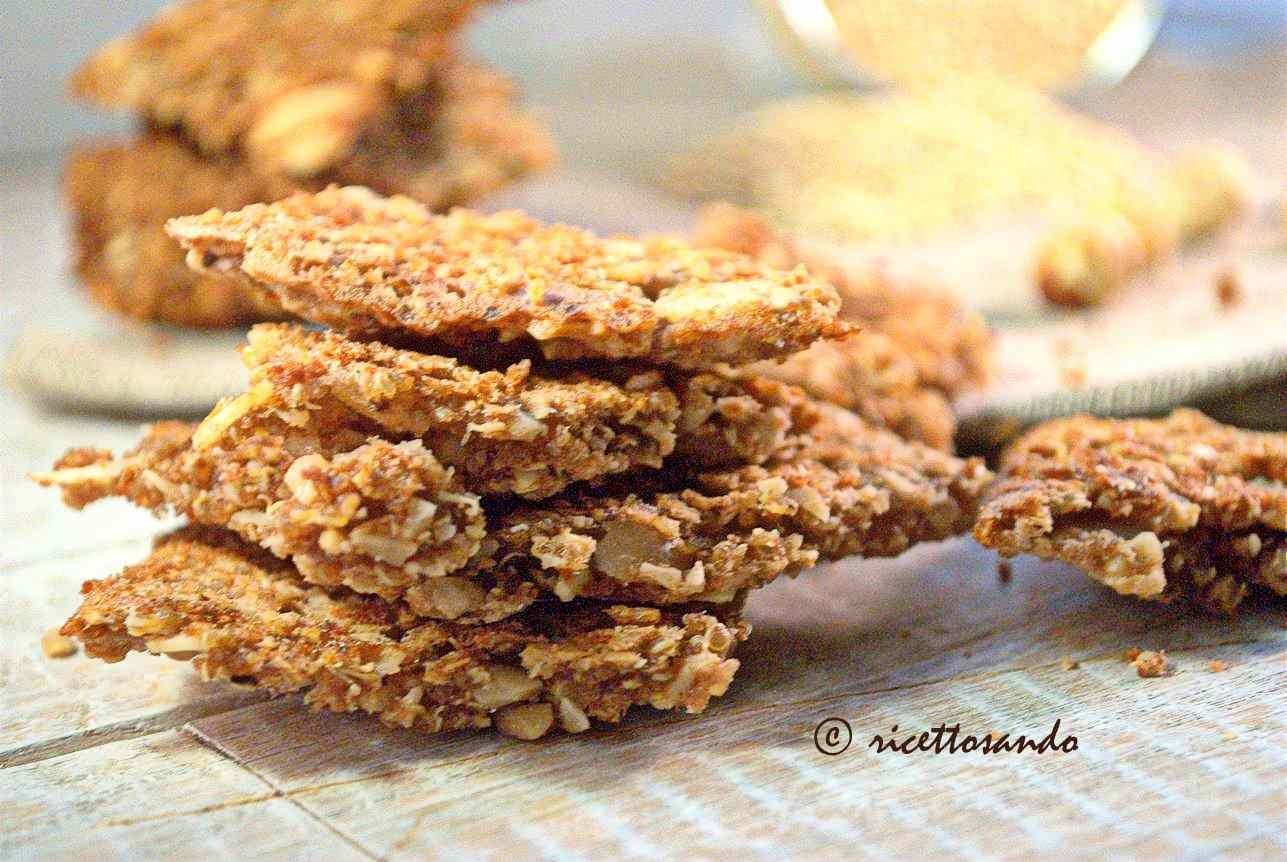 Ricetta: Gallette di quinoa con nocciole e cioccolato