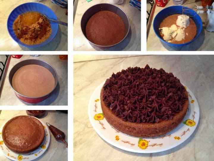 Ricetta: Cheescake al cioccolato