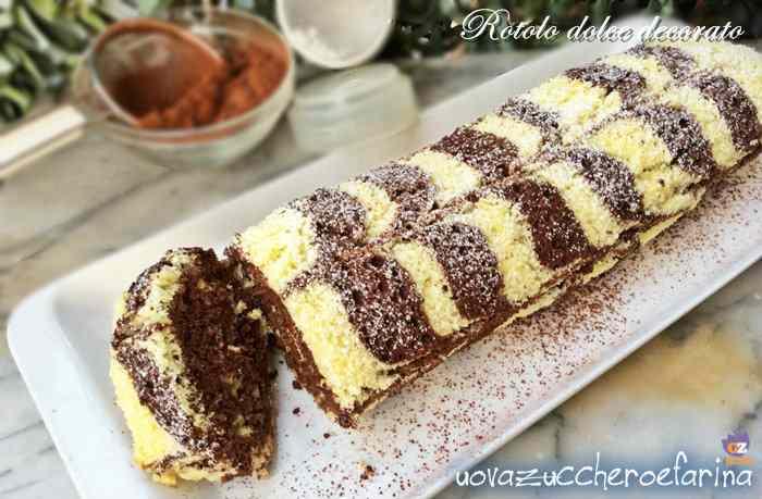 Ricetta: Rotolo dolce decorato alla Nutella