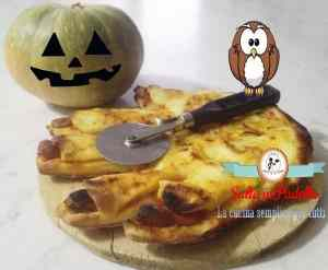 Pizza Mano Mostro di Halloween