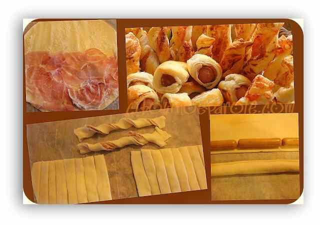 Ricetta: Salatini di prosciutto e wurstel