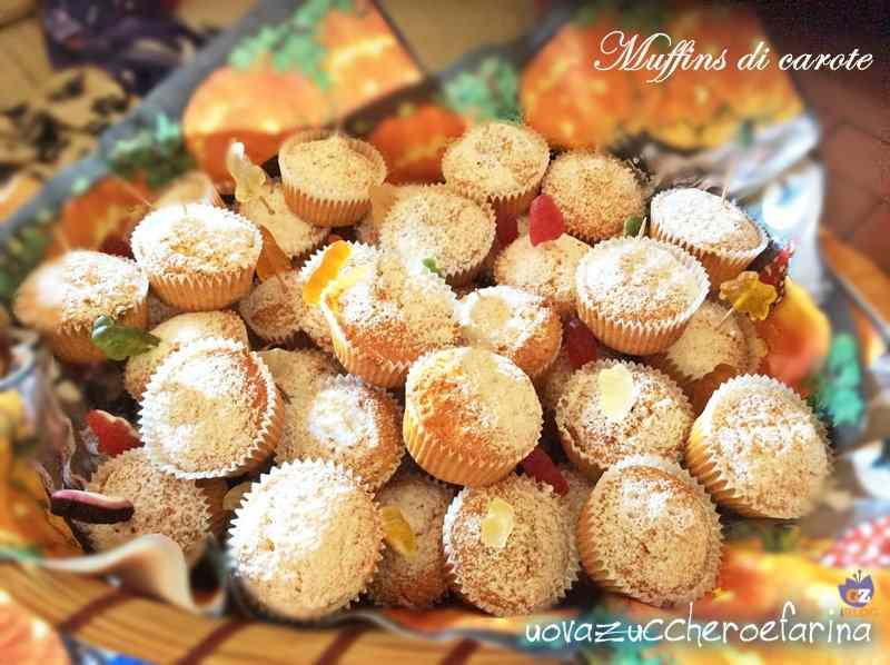 Muffins di carote