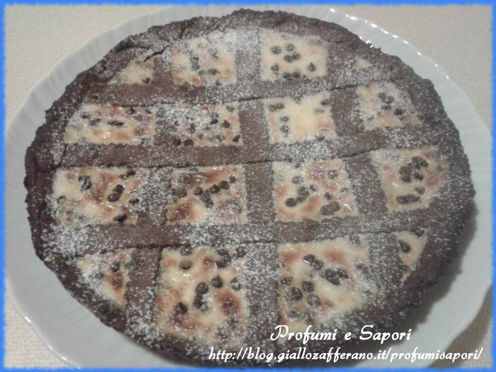 Ricetta: Crostata ricotta e cioccolato