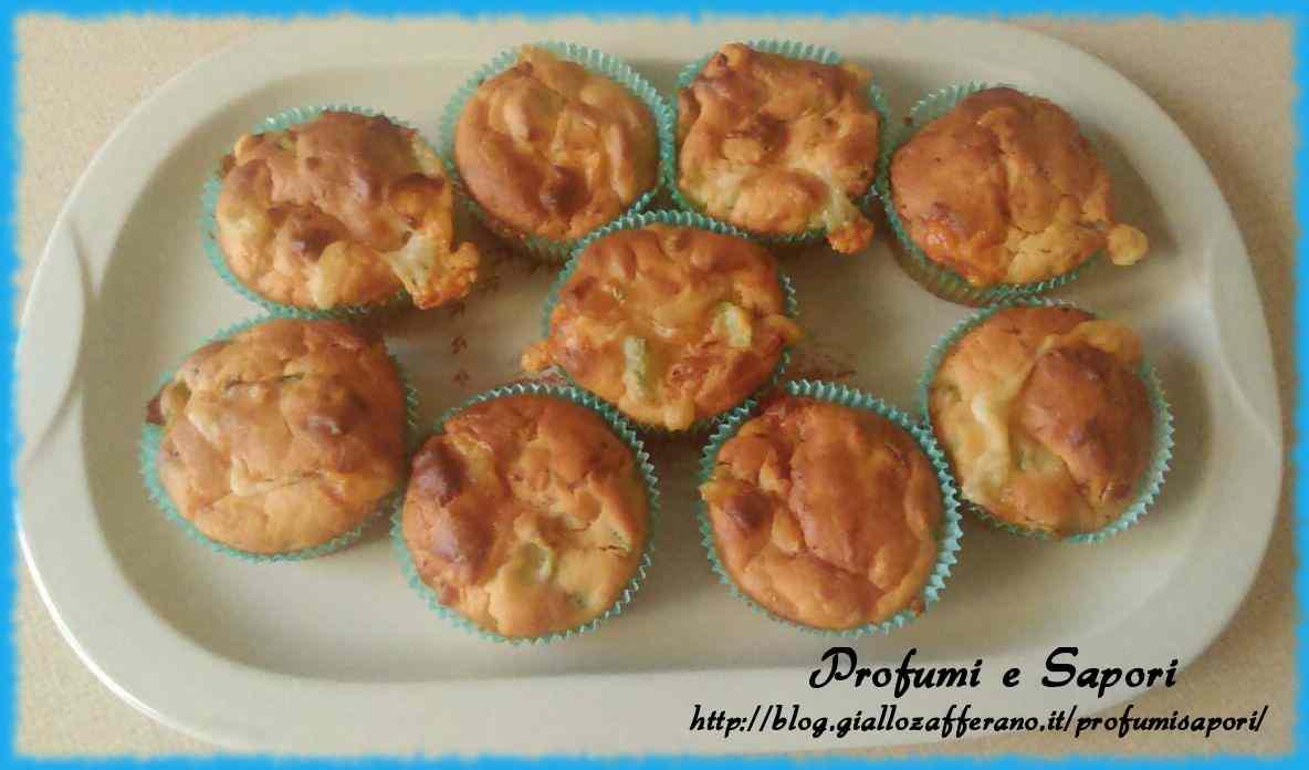 Ricetta: Muffin alle zucchine
