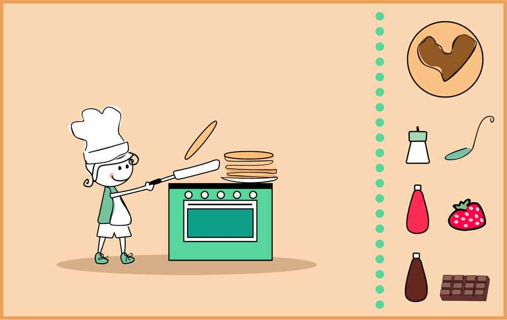 Pancake con pasta madre