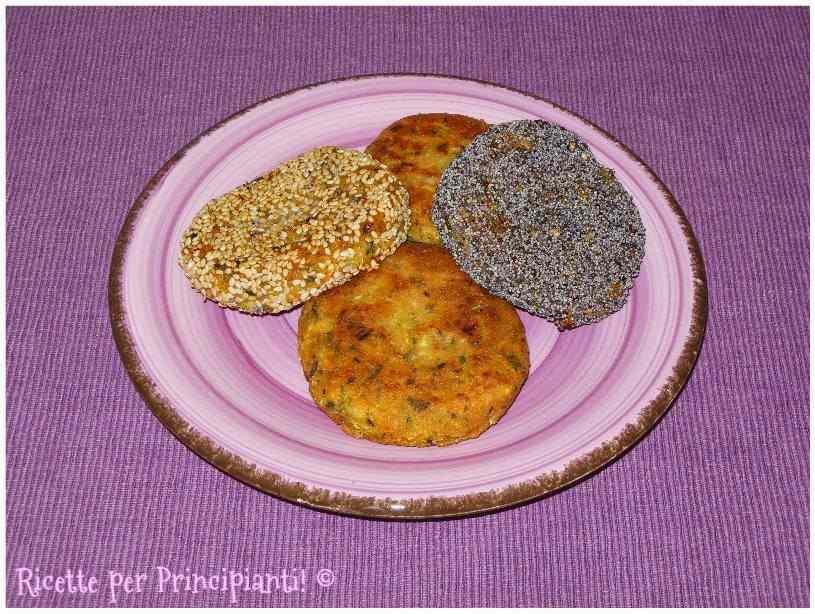 Ricetta: Vegburger di carote e zucchine assortiti