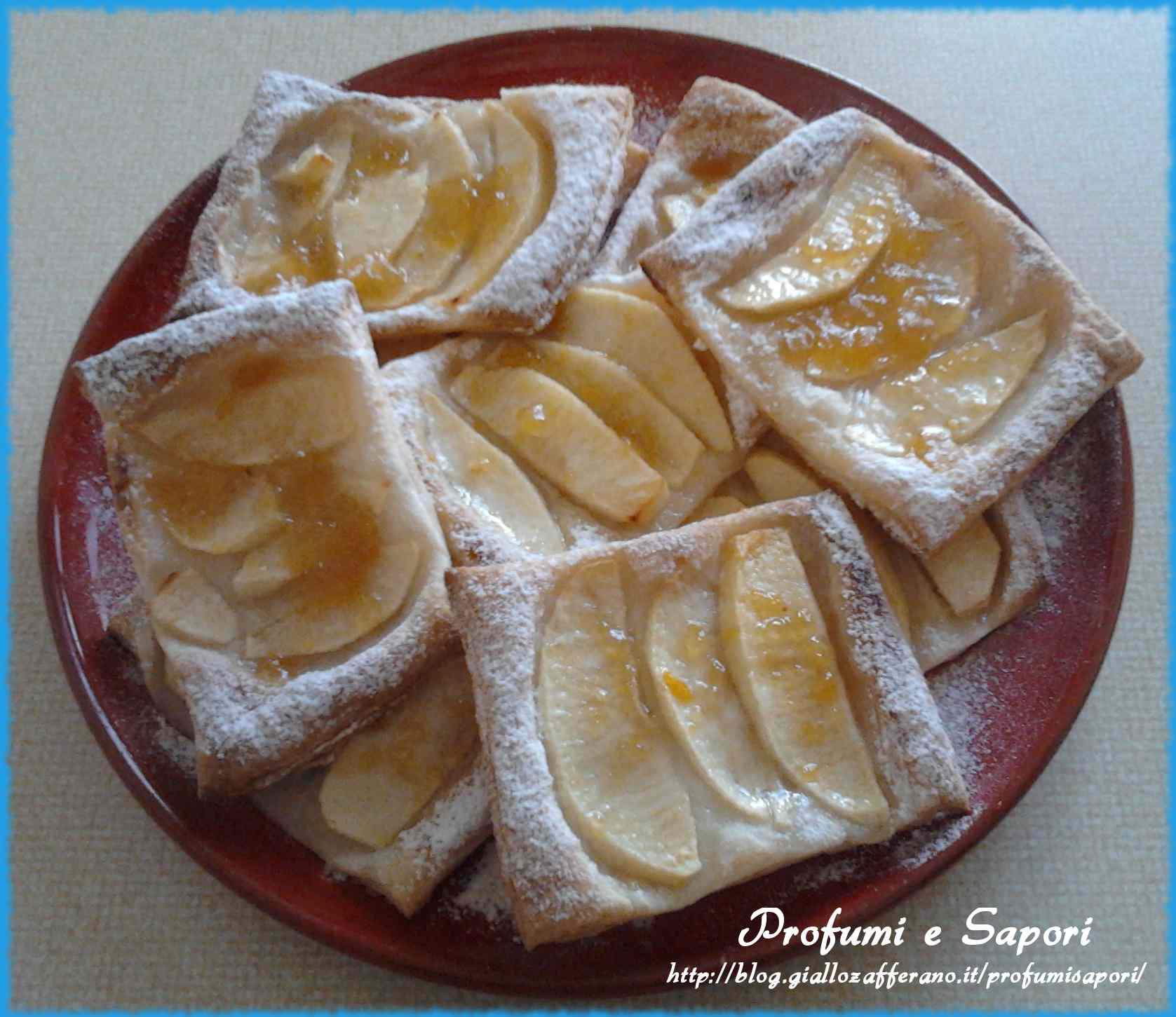 Ricetta: Sfogliette alle mele