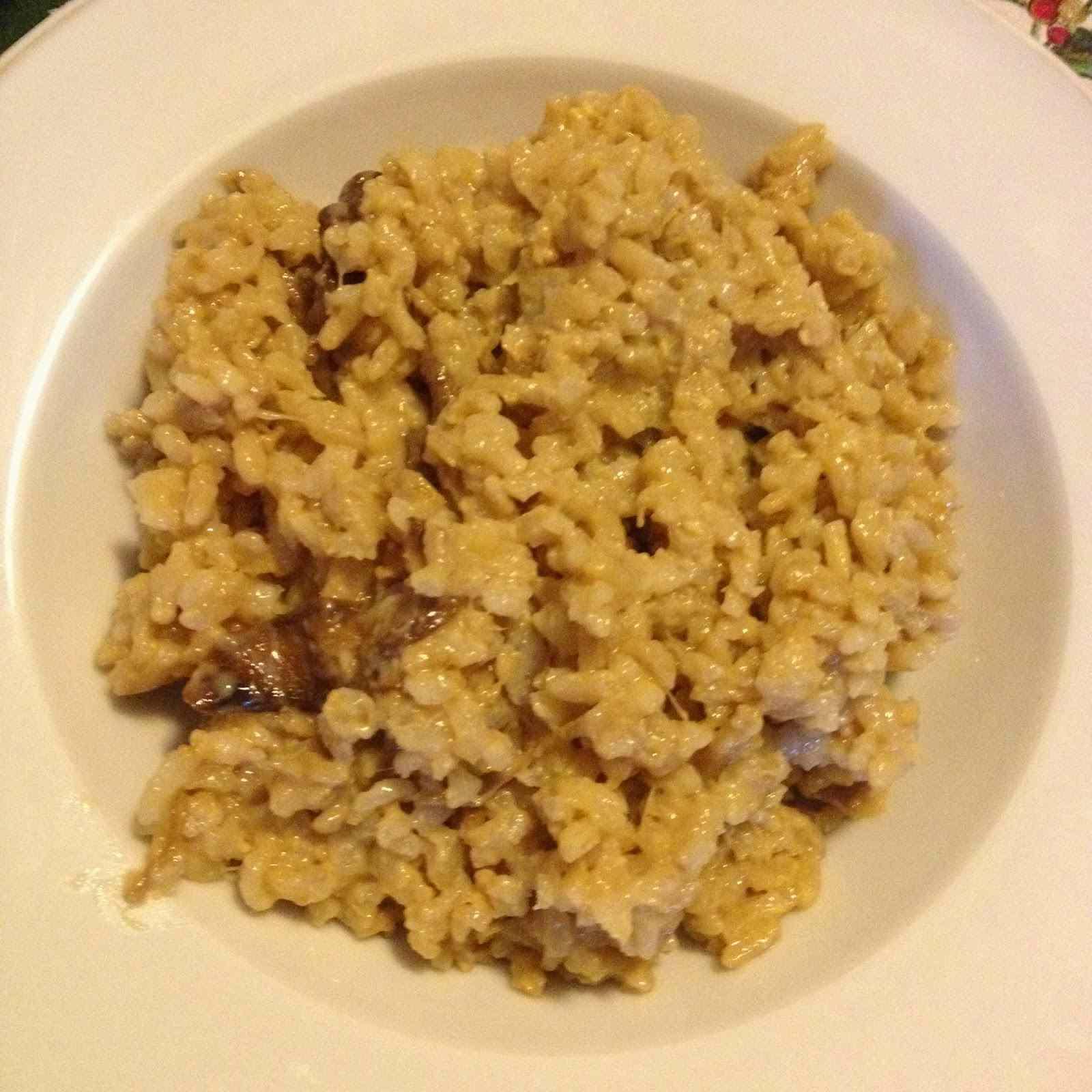 Ricetta: Risotto con funghi porcini e taleggio