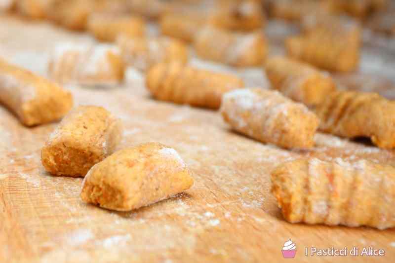 Ricetta: Gnocchi di zucca semi integrali