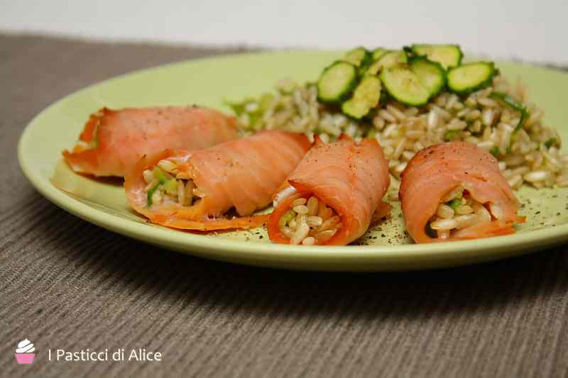 Ricetta: Involtini di salmone ripieni