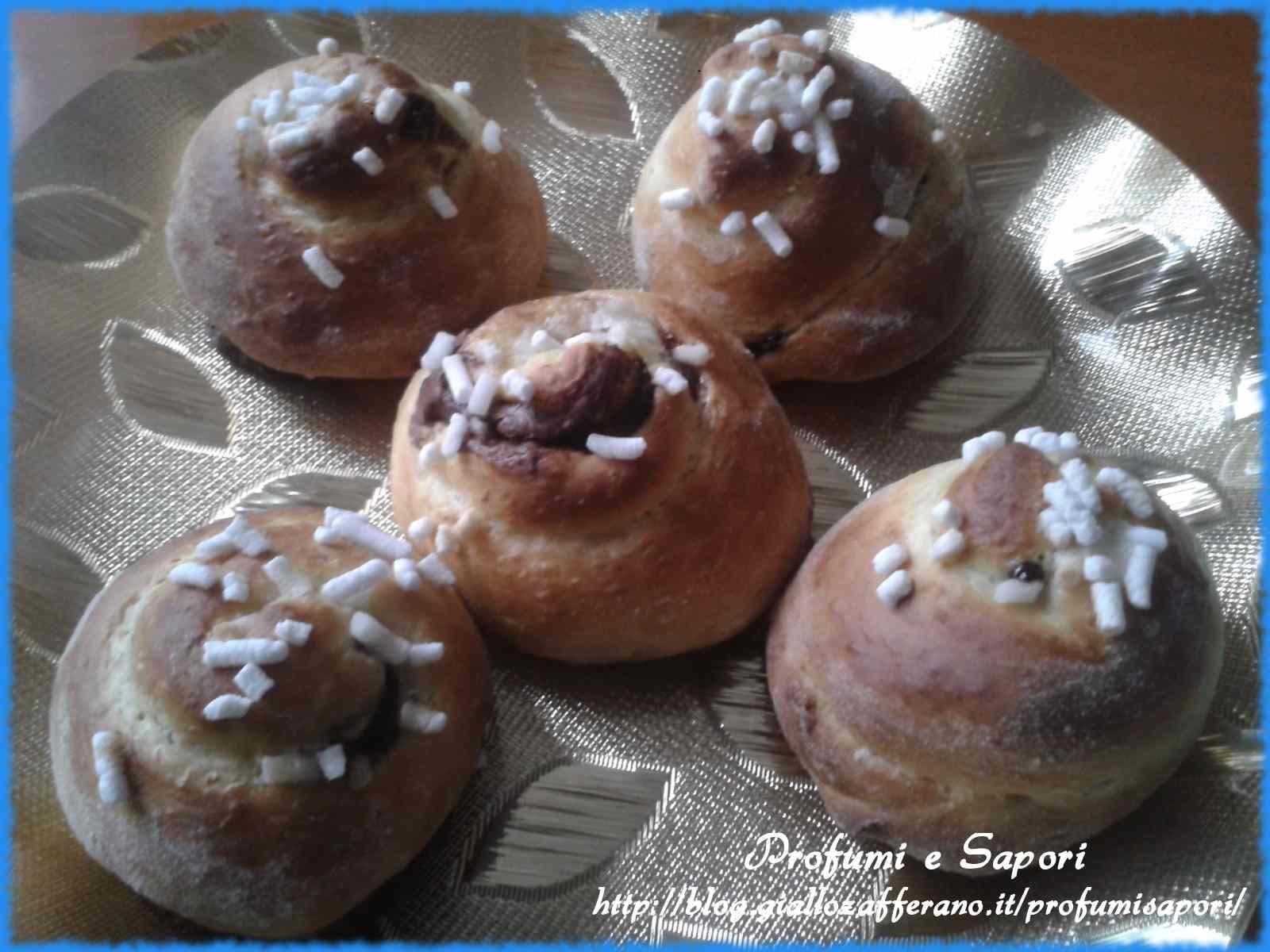 Ricetta: Chioccioline di pan brioche
