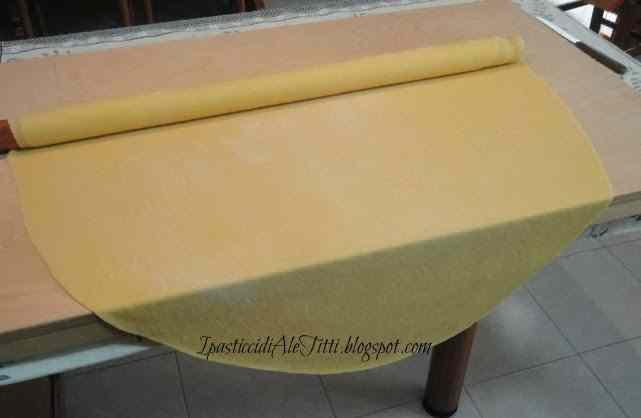 Ricetta: La pasta all'uovo fatta in casa