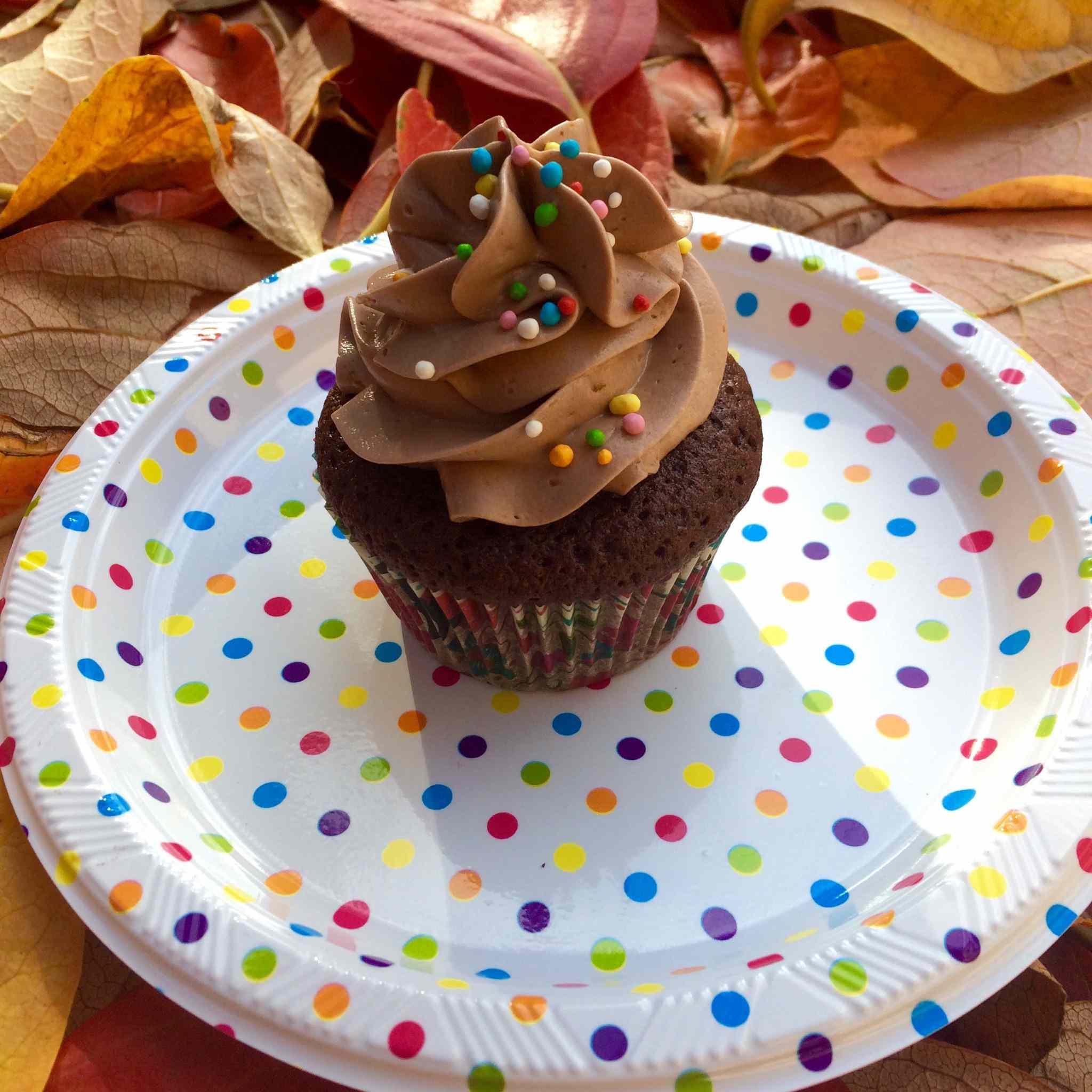 Cupcakes arancia e nutella