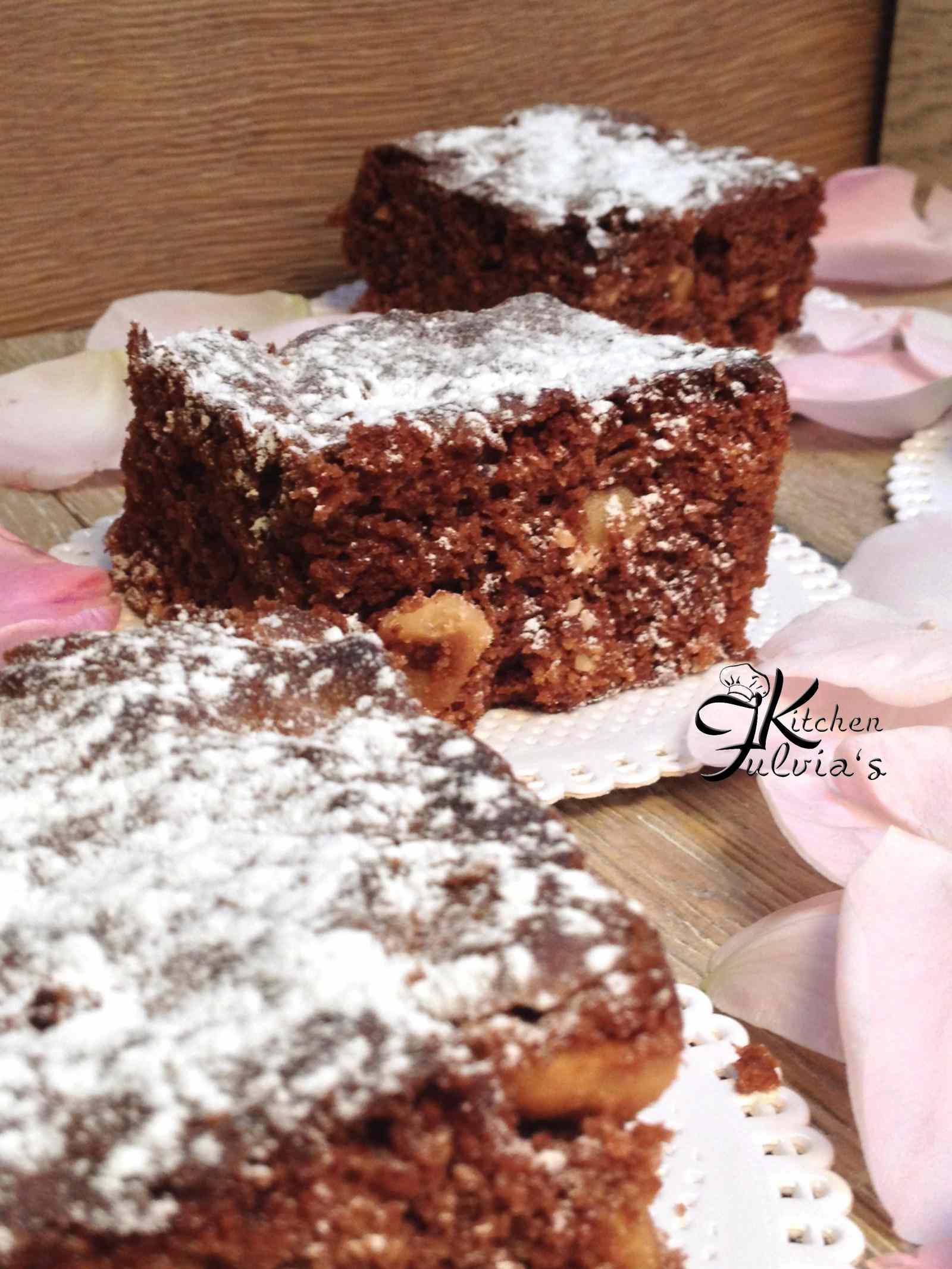 Ricetta: Brownies con cioccolato al latte e nocciole
