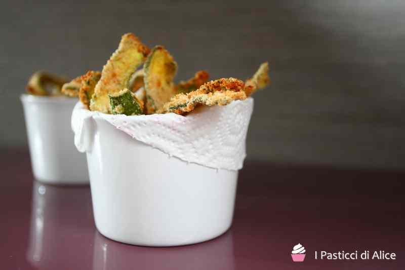 Ricetta: Zucchine Impanate al Forno