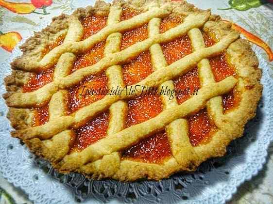 Ricetta: Crostata all'arancia...e con nutella.....