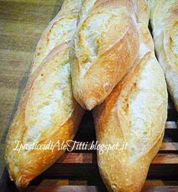 Ricetta: Baguette col poolish