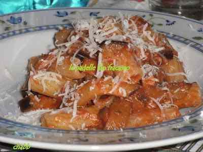 Ricetta: Rigatoni alla parmigiana