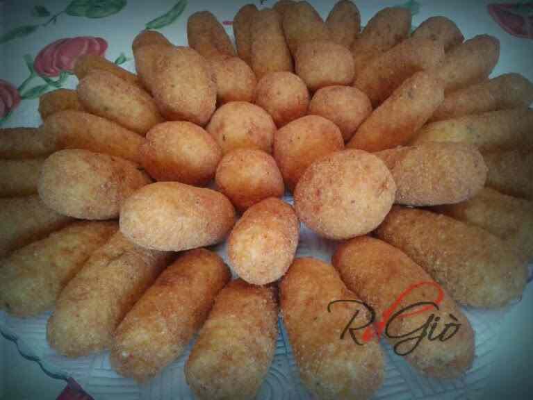 Crocchette di riso e patate