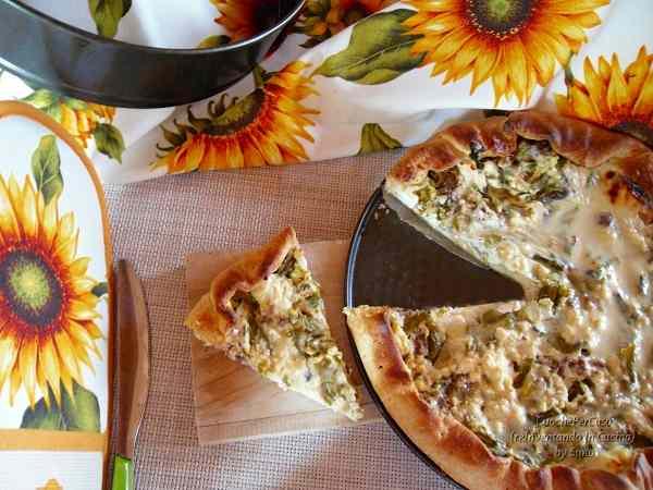 Ricetta: Quiche asparagi, luganiga e ricotta