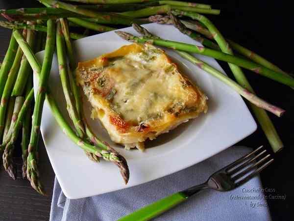 Ricetta: Lasagne asparagi e ricotta