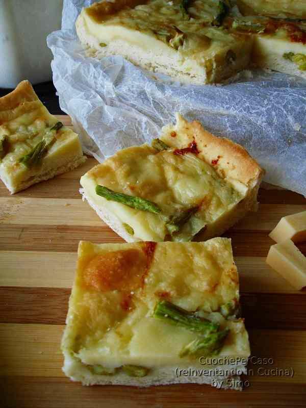 Ricetta: Torta salata con asparagi