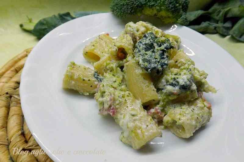 Pasta con Broccoletti Ricotta e Salsiccia