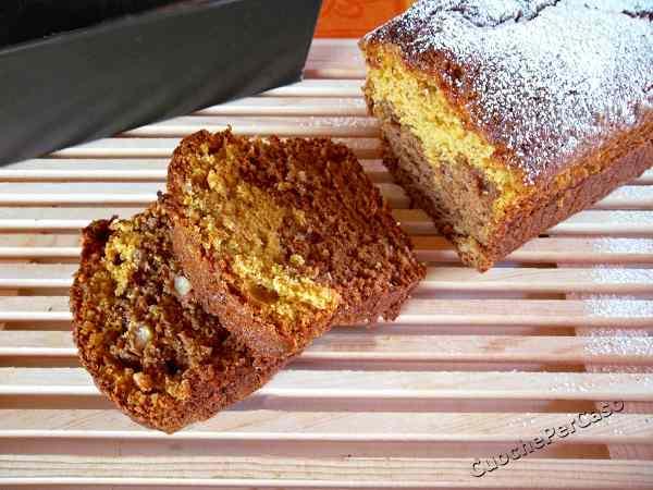 Plum cake cacao e carote