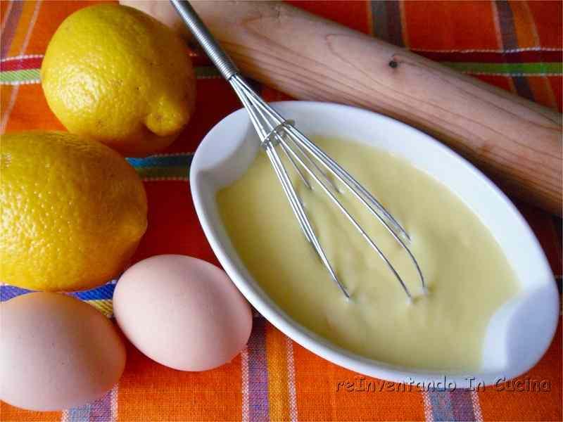 Ricetta: Crema pasticcera al limone