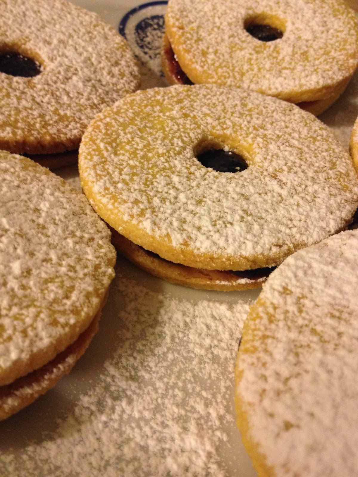 Ricetta: Biscotti occhio di bue