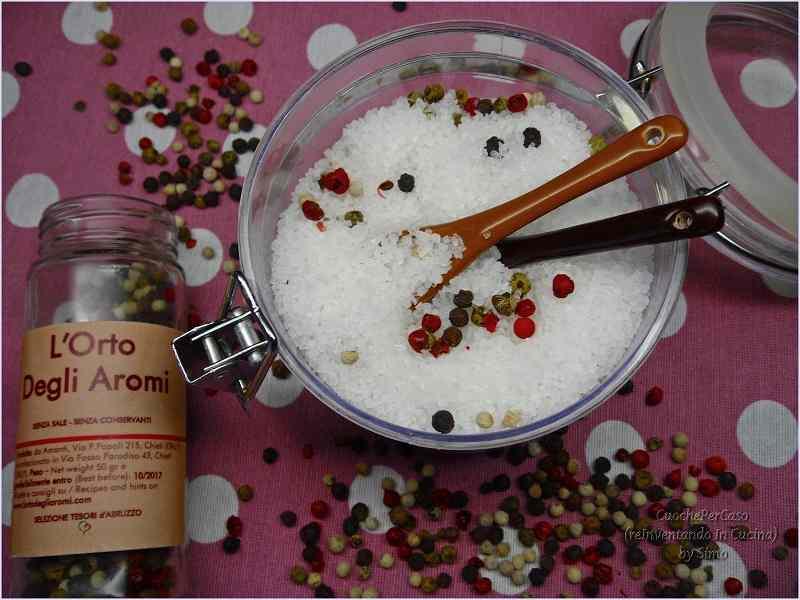 Ricetta: Sale aromatizzato al pepe Creola