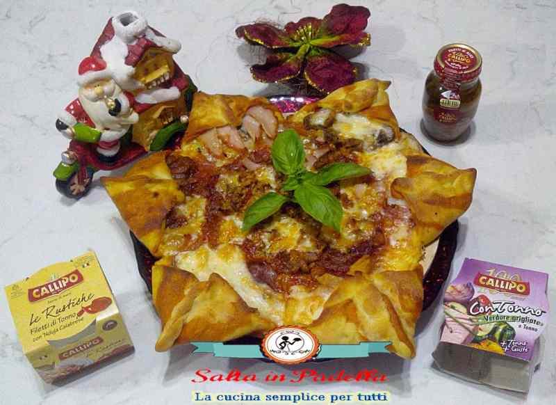 Pizza Stella di Natale