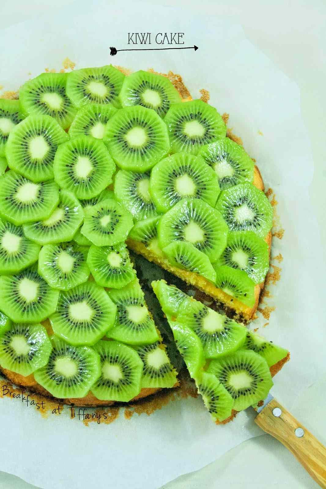 Ricetta: Torta di kiwi