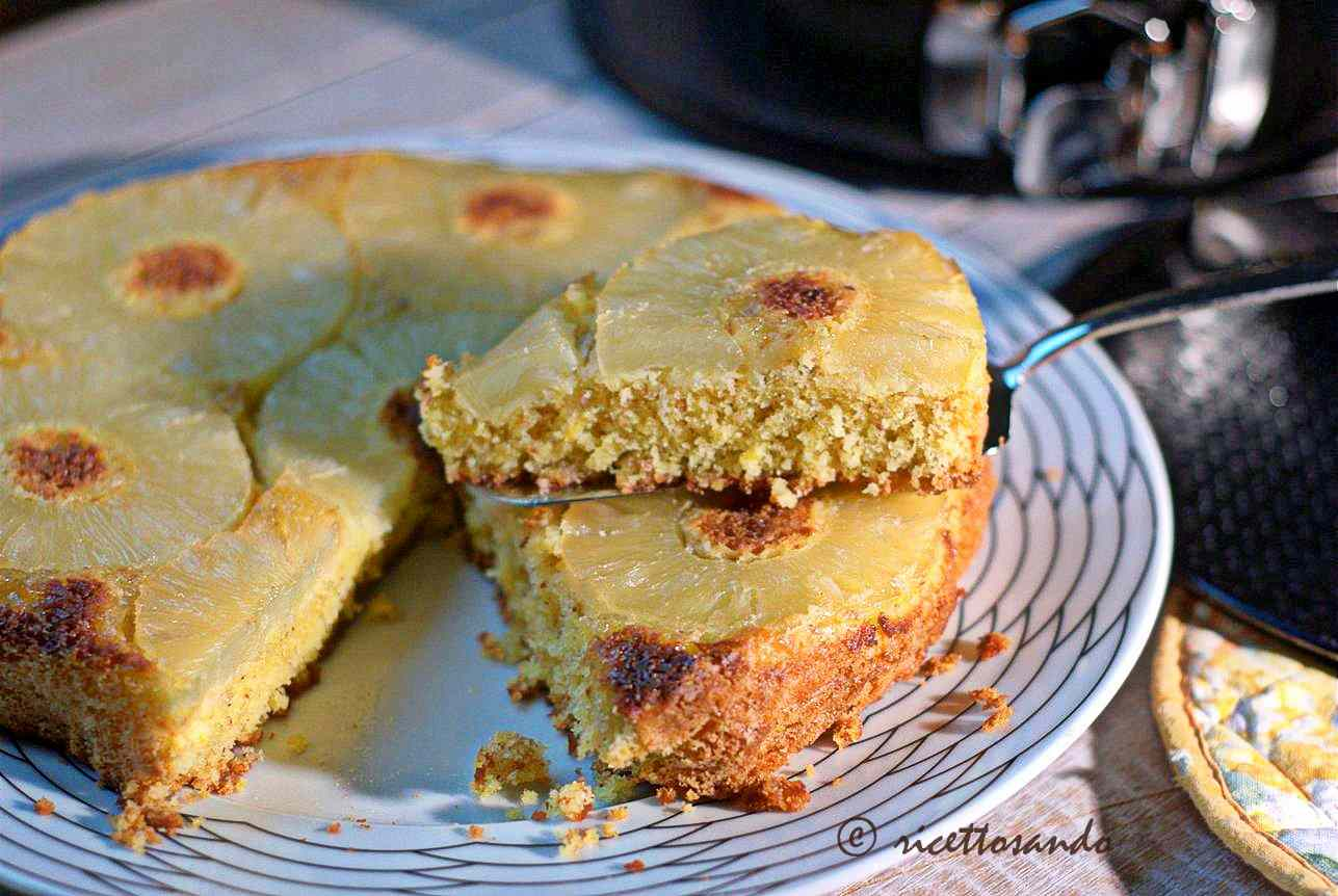 Ricetta: Torta rovesciata all'ananas