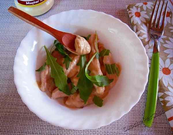 Ricetta: Straccetti di pollo alla senape