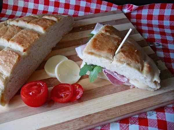 Ricetta: Focaccia salata