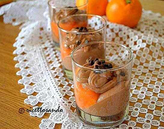 Ricetta: Dessert cioccoarancia