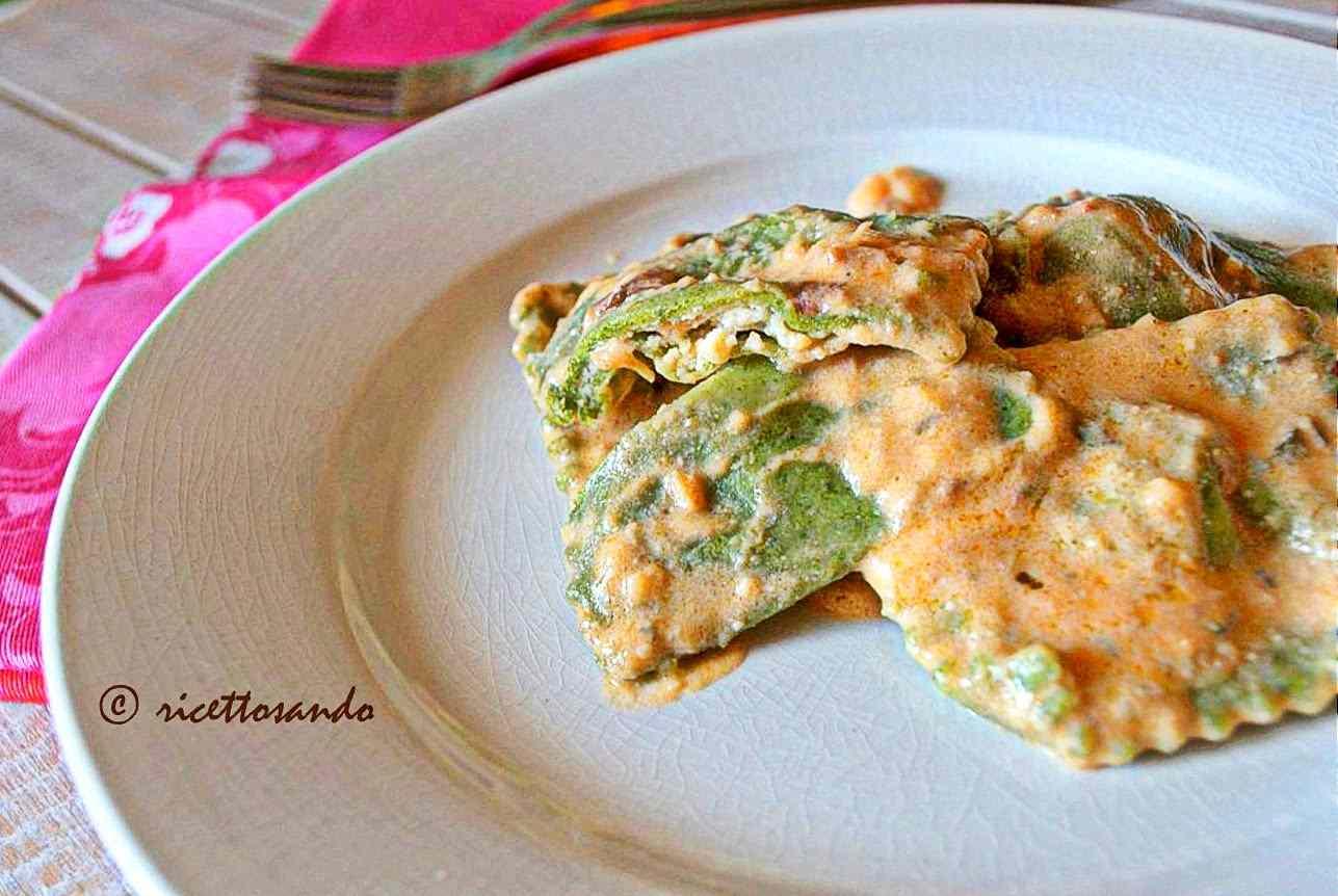 Ricetta: Tortelli verdi di spinaci con ricotta