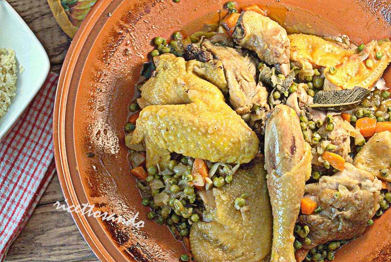 Ricetta: Tajine di pollo e verdure