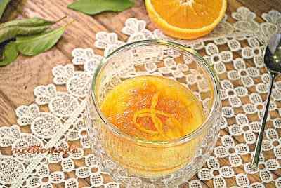 Ricetta: Crema dolce all'arancia