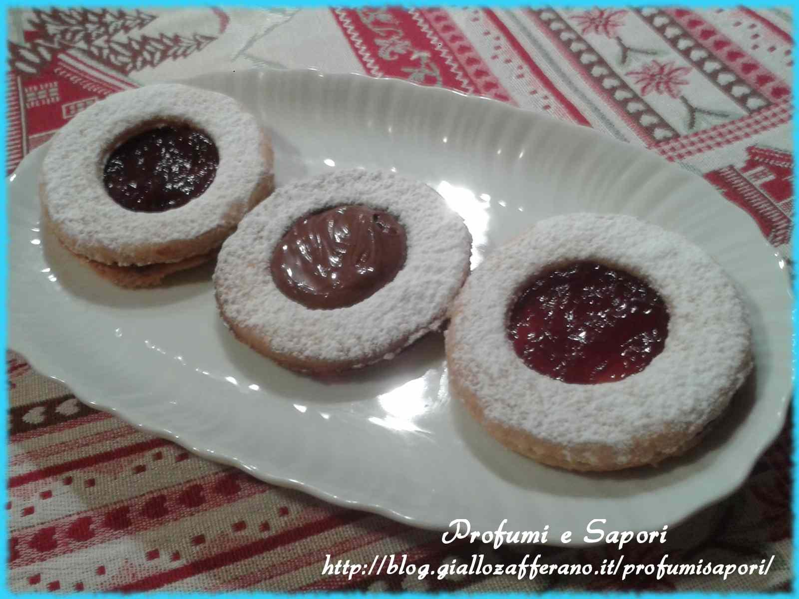 Ricetta: Biscotti occhio di bue alla nutella