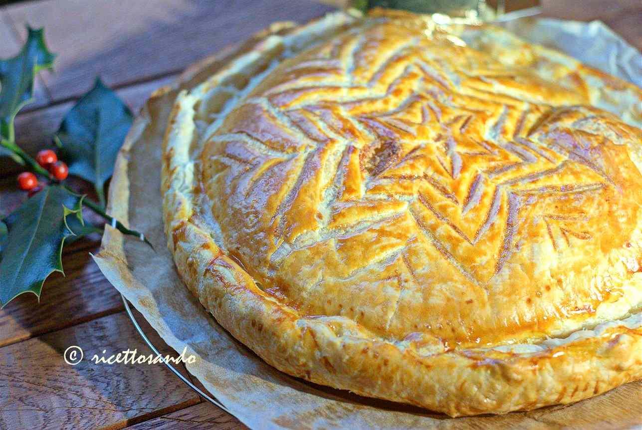 Ricetta: Galette des Rois o torta dei Re Magi