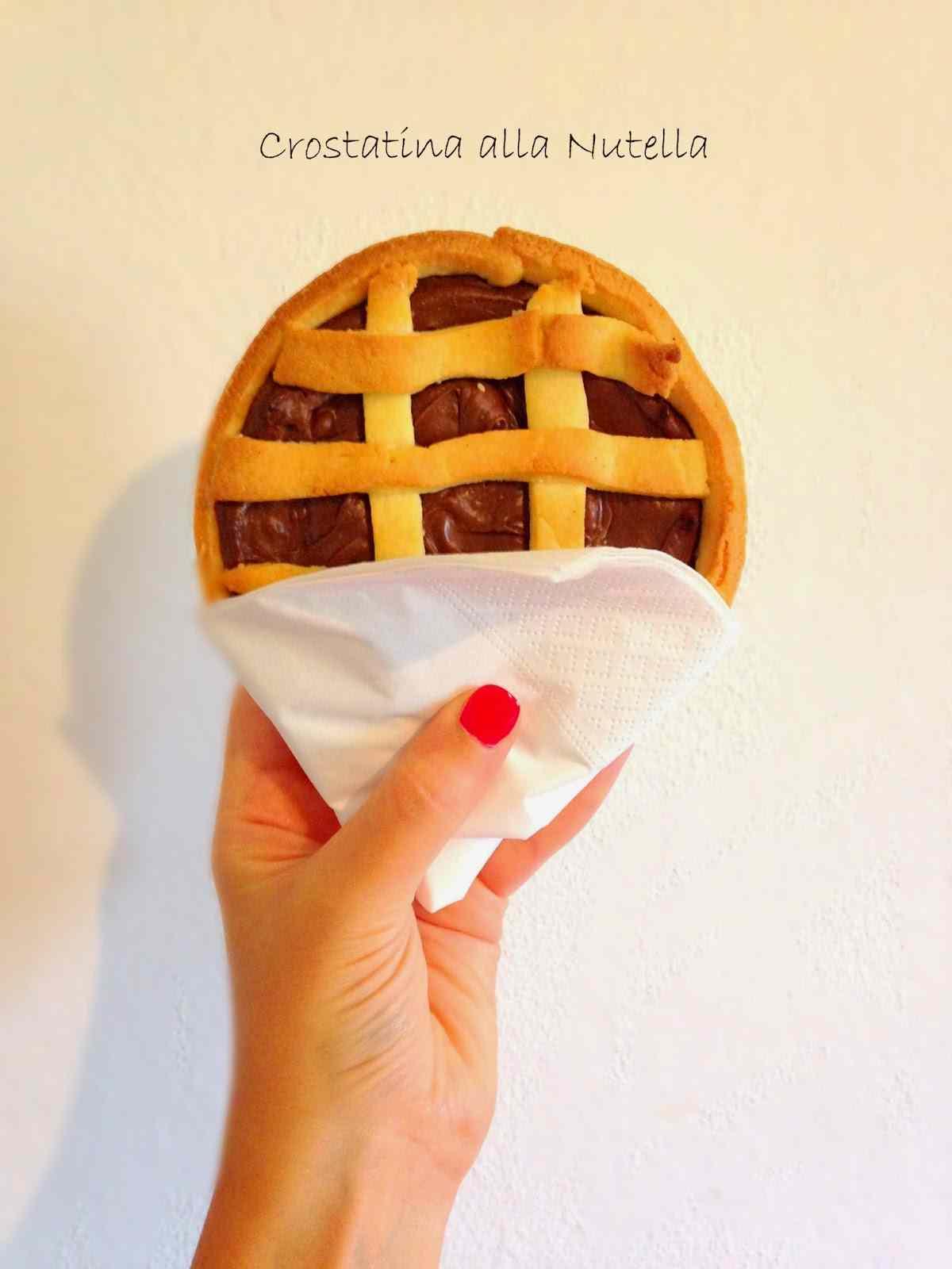 Ricetta: Crostatine alla Nutella
