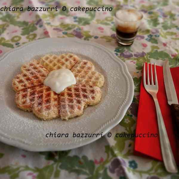 Waffles alla belga